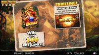 King Kong Fury NextGen Gaming Slot Info
