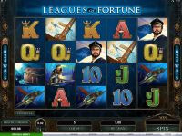Leagues of Fortune Microgaming Slot Slot Reels