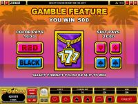 Loaded Microgaming Slot Gamble Screen