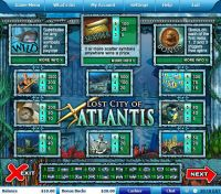 Lost City of Atlantis Leap Frog Slot Info