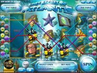 Lost Secrets of Atlantis Rival Slot Slot Reels