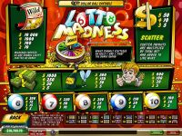 Lotto Madness PlayTech Slot Info