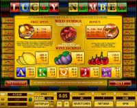 Lucky Number Topgame Slot Info