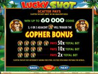 Lucky Shot Microgaming Slot Info