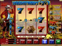 Magnificent 777's Microgaming Slot Slot Reels