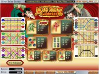 Mah Jong Madness WGS Technology Slot Info
