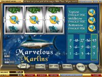 Marvelous Marlins WGS Technology Slot Slot Reels