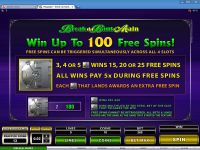 Mega Spin - Break da Bank Again Microgaming Slot Bonus 1