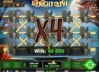 Midnight Rush Greentube Slot Slot Reels