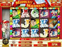 Midway Madness Rival Slot Slot Reels