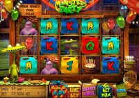 Monsters Party Sheriff Gaming Slot Slot Reels