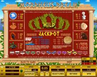 Morpheus Dream Topgame Slot Info