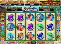 Naughty or Nice Spring Break RTG Slot Slot Reels