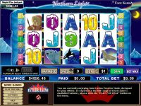 Northern Lights CryptoLogic Slot Slot Reels