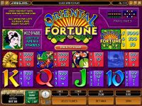 Oriental Fortune Microgaming Slot Info