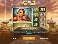 Planet Fortune Play'n GO Slot Info