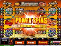 Power Spins - Atomic 8's Microgaming Slot Bonus 1