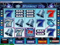 Power Spins - Sonic 7's Microgaming Slot Bonus 1