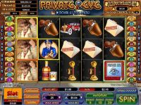 Private Eye NuWorks Slot Slot Reels