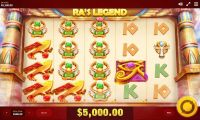 RA's Legend Red Tiger Gaming Slot Slot Reels