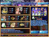 Reel Party Platinum Rival Slot Info