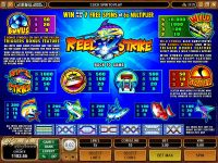 Reel Strike Microgaming Slot Info