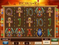 Riches of Ra Play'n GO Slot Slot Reels