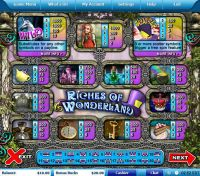 Riches of Wonderland Leap Frog Slot Info