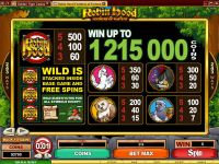 Robin Hood Feathers of Fortune Microgaming Slot Info