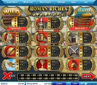 Roman Riches Leap Frog Slot Info