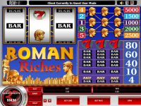 Roman Riches Microgaming Slot Slot Reels
