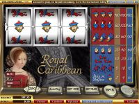 Royal Caribbean WGS Technology Slot Slot Reels
