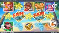 Sam on the Beach Elk Studios Slot Slot Reels