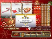 Santa's Surprise Saucify Slot Slot Reels