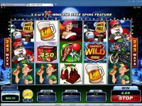 Santa's Wild Ride Microgaming Slot Bonus 1