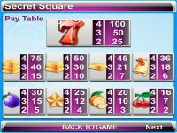 Secret Square Byworth Slot Info