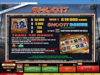 Shoot! Microgaming Slot Bonus 1