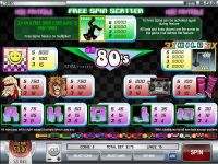 So 80's Rival Slot Info