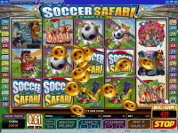 Soccer Safari Microgaming Slot Bonus 1