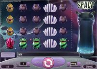 Space Wars NetEnt Slot Slot Reels
