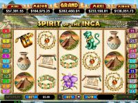 Spirit Of The Inca RTG Slot Slot Reels