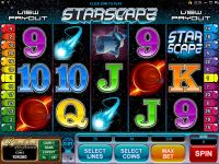Starscape Microgaming Slot Slot Reels
