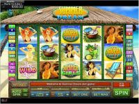 Summer Dream GamesOS Slot Slot Reels