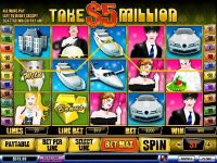 Take 5 Million Dollars PlayTech Slot Slot Reels