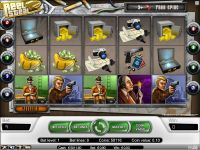 The Reel Steal NetEnt Slot Slot Reels