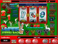 The Umpire Strikes Back Microgaming Slot Slot Reels