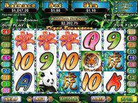 Tiger's Treasure RTG Slot Slot Reels