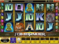 Tomb Raider Mini Microgaming Slot Slot Reels