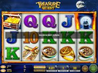 Treasure Quest GTECH Slot Slot Reels