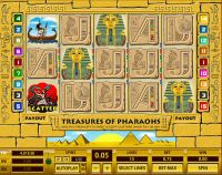 Treasures of Pharaohs 15 Lines Topgame Slot Slot Reels